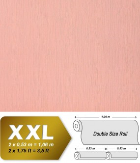 EDEM 901-15 plain wallpaper non-woven embossed texture fabric textile look wallcovering rose | 10,65 sqm (114 sq ft) XXL