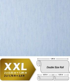 Plain wallpaper non-woven EDEM 908-03 luxury vintage fabric textile look light blue light lilac | 10,65 sqm (114 sq ft)