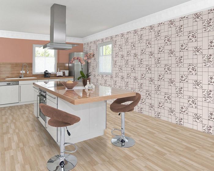 Sydati.com = vinylbehang voor badkamer ~ laatste badkamer design ...