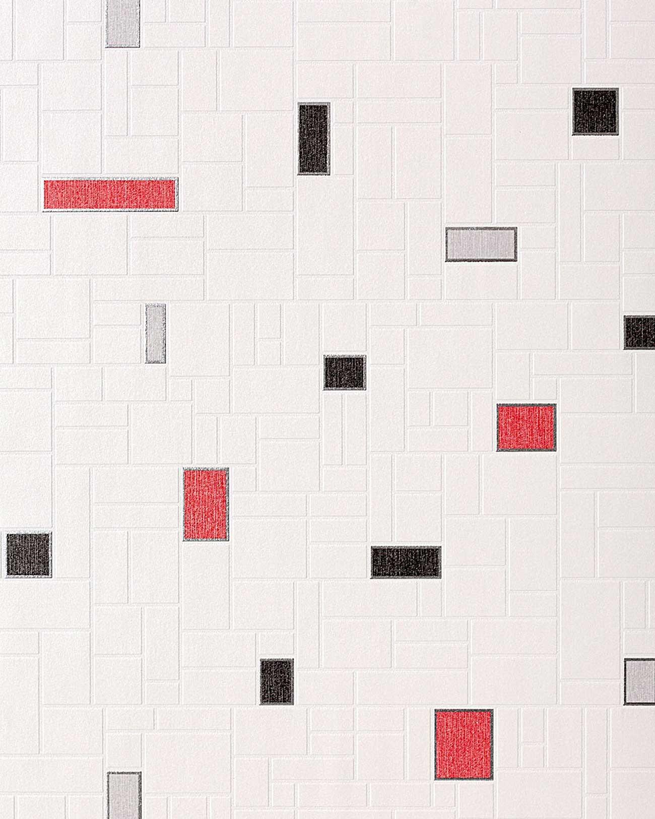 Tegel Behang Voor Keuken En Badkamer Edem 584 26 Wit Zwart