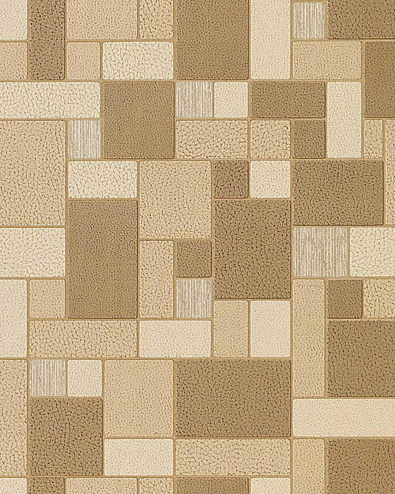Mooiste Kleine Badkamers ~ Tegel behang voor keuken en badkamer EDEM 585 21 structuur vinylbehang