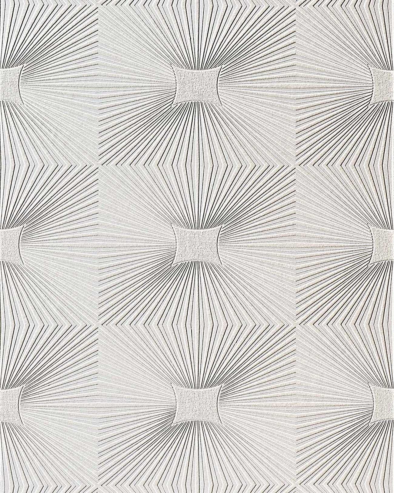 Wit behang reli f behang edem 115 00 voor muur en plafond for Papel pintado para paredes 3d