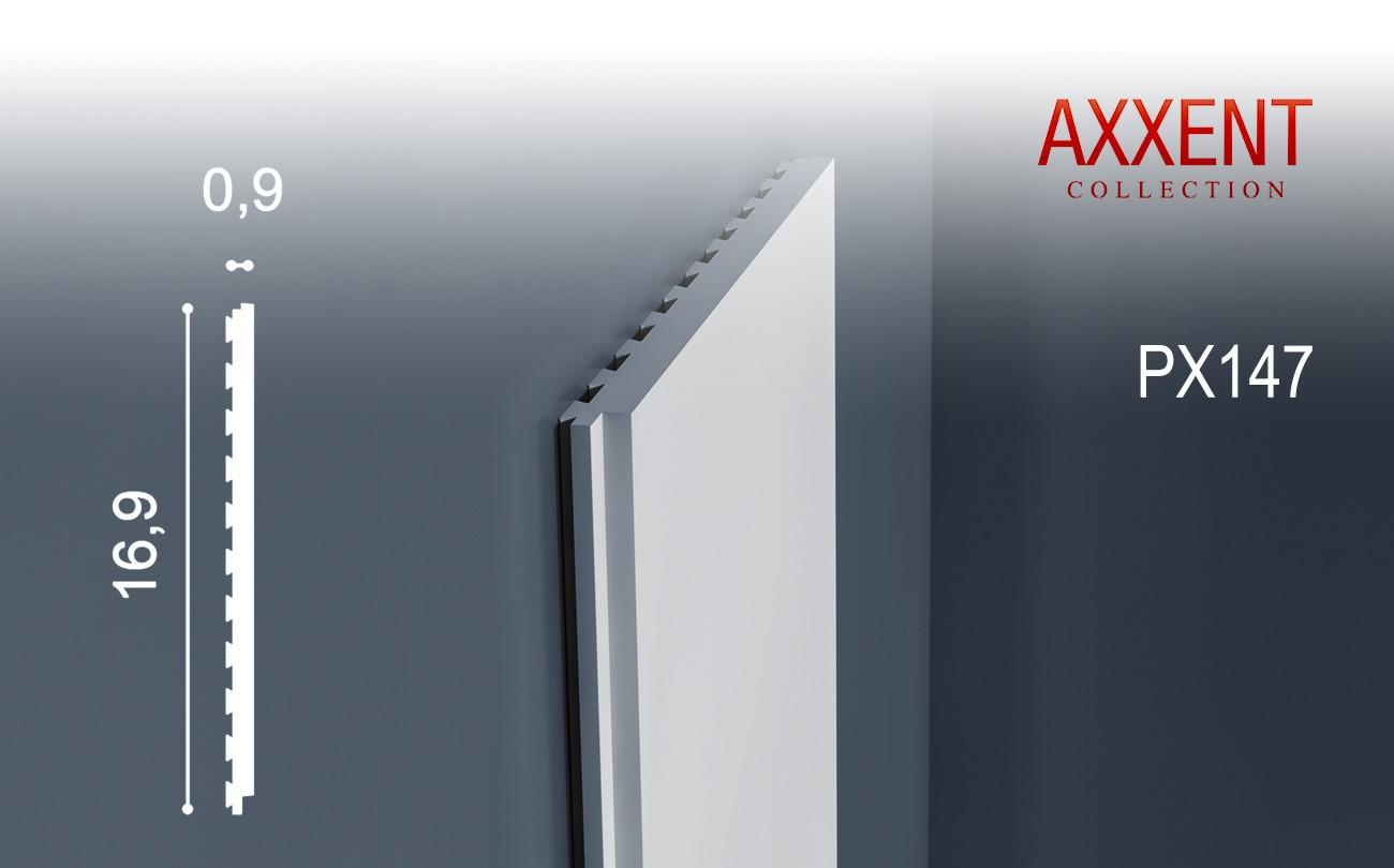 Multifunctioneel stootvast sierlijst origineel orac decor px147 axxent wandlijst lambrisering 2 - Lambrisering lijstwerk ...