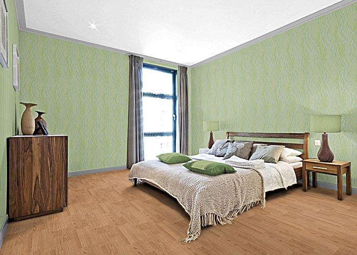... patroon met abstracte lijnen licht groen blauw-grijs olijf – Bild 3