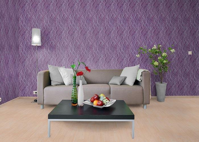 Wall Design Violet : Design behang edem structuurbehang patroon met