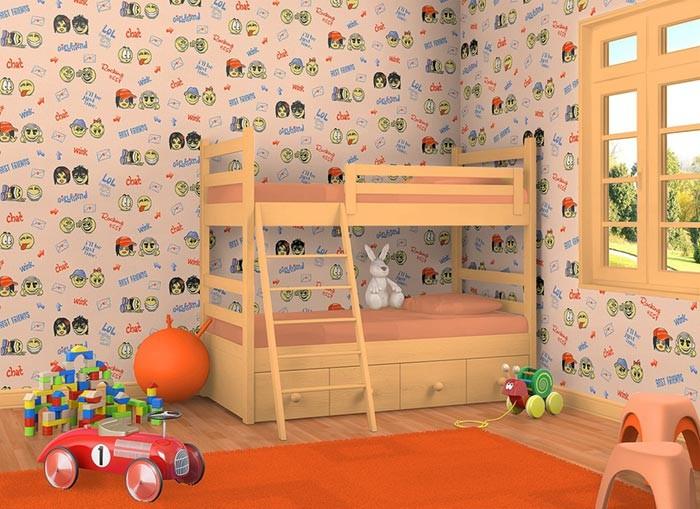 Behang Babykamer Paars : Kinderkamer behang baby behang edem 037 23 ...