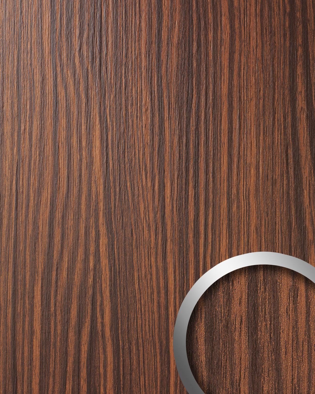 Wandbekleding hout design bruin WallFace 12441 WOOD MAKASSAR Wandbekleding boot caravan kantoor