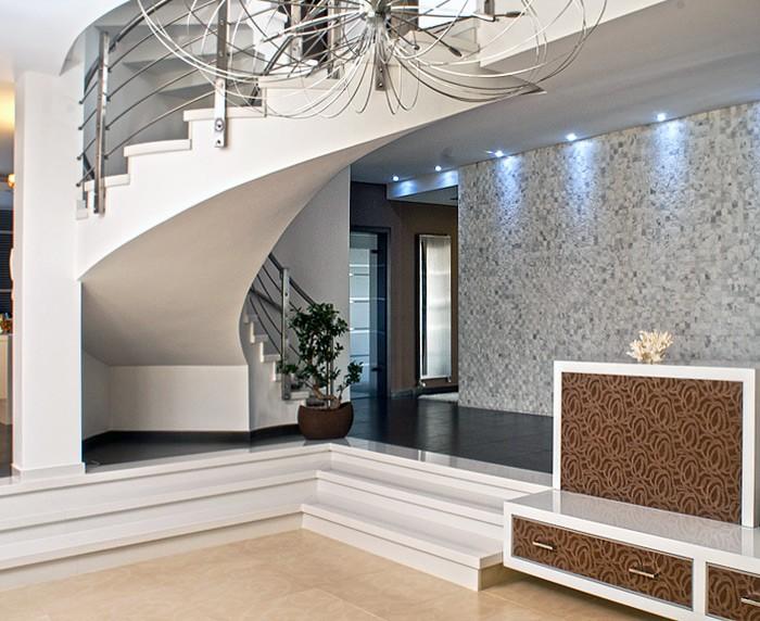 Design Behang Woonkamer : Muurbekleding exclusief leer design luxe ...