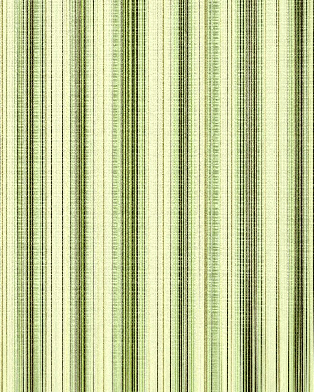 Barok behang vinyl behang edem 097 25 gestreept klassieke strepen modern en fraai groen wit goud - Behang zwart en goud ...