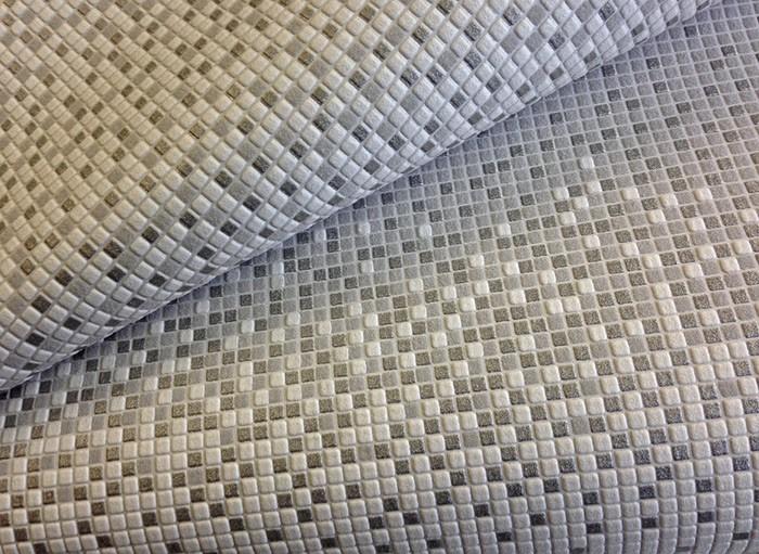 Behang design tegel mozaïek met strepen EDEM 1023-16 behangpapier ...